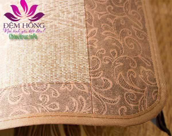 Bo viền chiếu gấp vân gỗ Thailand