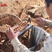 Cách đục hạt chiếu gỗ pơ mu