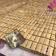 Chiếu Trơn vàng Tre Việt PHổ Mến Thái Bình