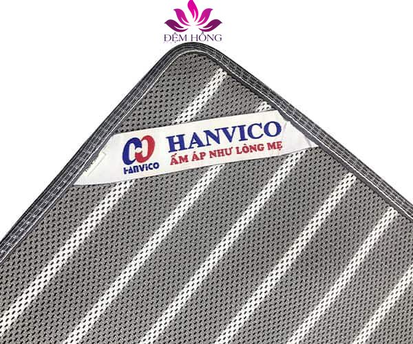 Tem logo Hanvico tại góc của sản phẩm